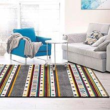 UNIVERSAL Modern Badari Ethnic Multicoloured Rug,