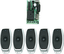 Universal Remote Control Switch For Household