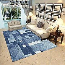 Universal Rugs Blue Rug Bedroom Abstract geometric