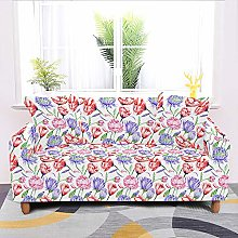 Universal Sofa Slipcover,Colored Roses Vintage