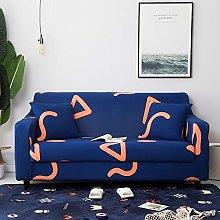 Universal Sofa Slipcover Printed Geometry Pattern