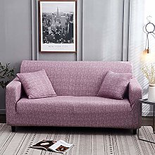 Universal Sofa Slipcover Printed Light Purple