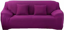 Universal Sofa Slipcover,Solid Color Candy Purple