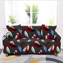 Universal Sofa Slipcover,Stretch Abstract Feather