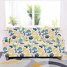 Universal Sofa Slipcover,Stretch Cartoon Abstract