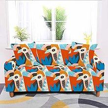 Universal Sofa Slipcover,Stretch Cartoon Ostrich
