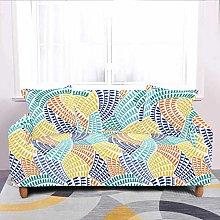 Universal Sofa Slipcover,Stretch Color Geometric