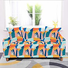 Universal Sofa Slipcover,Stretch Geometric Cartoon