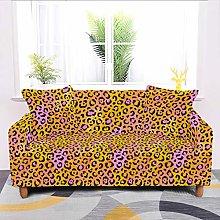 Universal Sofa Slipcover,Stretch Leopard Non Slip