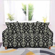 Universal Sofa Slipcover,Stretch Skull Classical