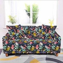 Universal Sofa Slipcover,Stretch Skull Graffiti
