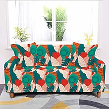 Universal Sofa Slipcover,Stretch Vintage Abstract