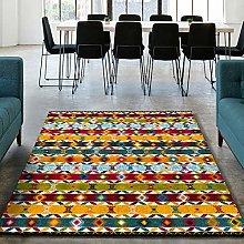 UNIVERSAL Zaria Zigzag Ethnic Rug, Multicoloured,