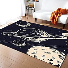 Universe Galaxy Carpet for Living Room