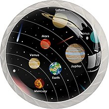 Universe Planet Galaxy, Modern Minimalist Printing