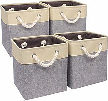 Univivi Storage Baskets for Cube Units,Two Handles