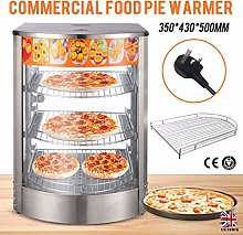 Unizooke Commercial Food Pie Warmer Counter Top