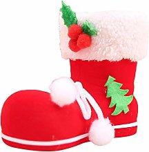 unknow Husmniors Christmas Santa Candy Bag Boots