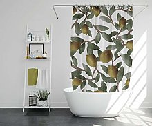unknow Lemon Tree Shower Curtain Floral Shower