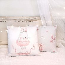 unknow Pillow for girls BALLERINA Nursery cushion