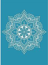 unknowns Mandala Self Adhesive Silk Screen