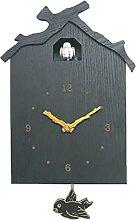 Unknows Antique Wooden Bird Cuckoo Clock Time