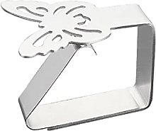 Unknows Butterfly Flower Stainless Steel