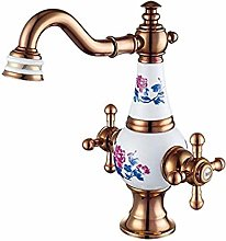 Unleaded Sink Hot and Cold Faucet Copper Sink