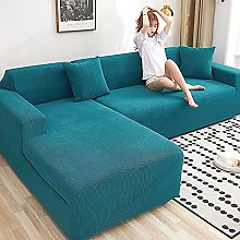 Unmbo L Shape Slipcover Easy Stretch Fit Elastic