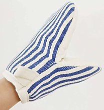 Unmbo Stripe Oven Mitts with Duck-bill Design