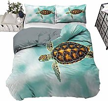 UNOSEKS LANZON Bedding Cover Cute Baby Turtle