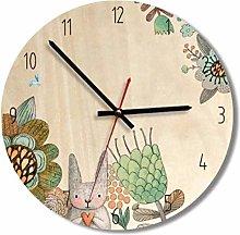 uobaysj Wall Clock 12 Inch Clocks Children S