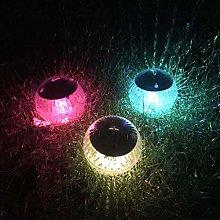 Uonlytech 2pcs Solar LED Floating Pool Lights