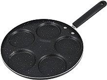 Uonlytech 6 Poaching Cup Egg Frying Pan Pancake