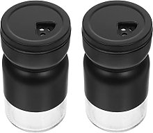 Uonlytech Glass Spice Jars Salt And Pepper Shakers