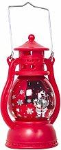 Uonlytech LED Christmas Lantern Lamp Vintage Retro