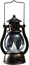 Uonlytech Vintage LED Lantern Lamp Retro Kerosene