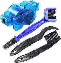 Uooker 4PCS Bike Chain Cleaner Brushes Kit Easy