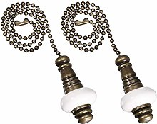 Uotyle Ceiling Fan Pull Chain Ornaments Set
