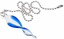 Uotyle Ceiling Fan Pull Chains 12 inches Crystal