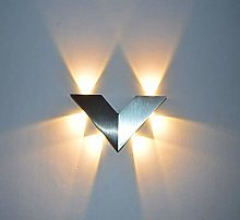 Up and Down Wall Lamp, 6W Indoor Modern Wall Wash