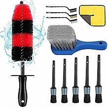 upain 11 Pcs Car Detail Brushes Set,Professional