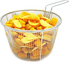 Updated Version Stainless Steel Deep Fry Basket