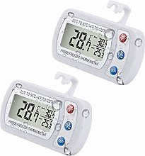 Upgraded 2-Pack Digital Refrigerator Thermometer,