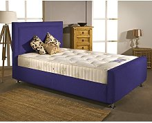 Upholstered Bed Frame Mercury Row Size: Super King