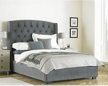 Upholstered Bed Frame Rosalind Wheeler