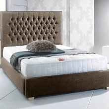 Upholstered Bed Frame Willa Arlo Interiors Size:
