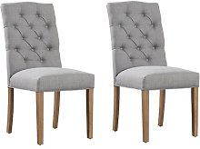 Upholstered Dining Chair August Grove Colour
