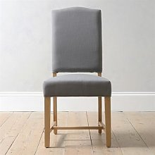 Upholstered Dining Chair - Grey