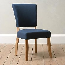 Upholstered Dining Chair - Navy